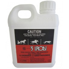3 Iron for Horses and Greyhounds 1Lt
